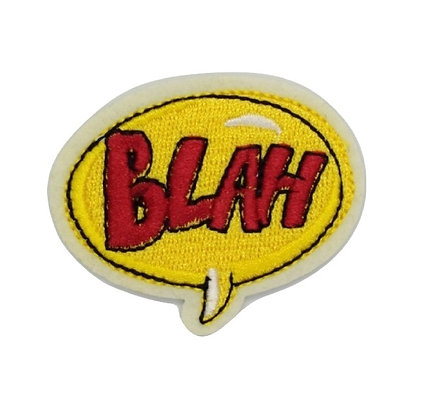 BLAH Iron on Patch