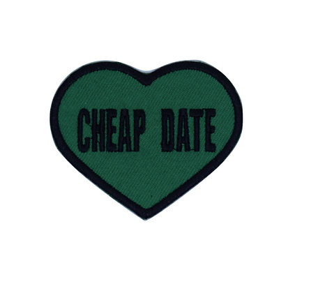 Cheap Date Iron on Patch