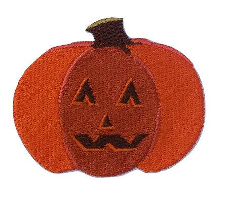 Halloween Pumpkin Iron on Patch
