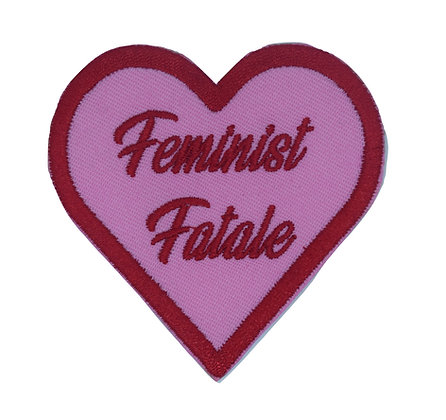 Feminist Fatale Iron on Patch