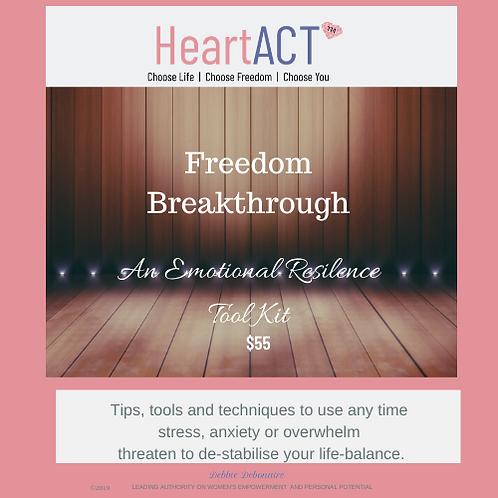 Freedom Breakthrough - Emotional Resilience Tool kit