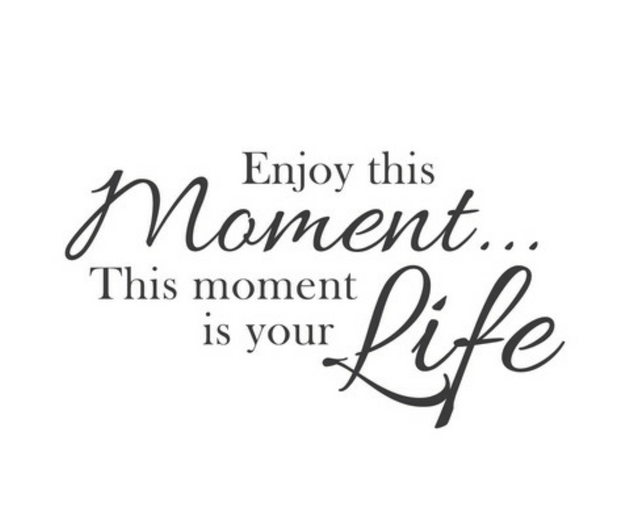 Your moments.