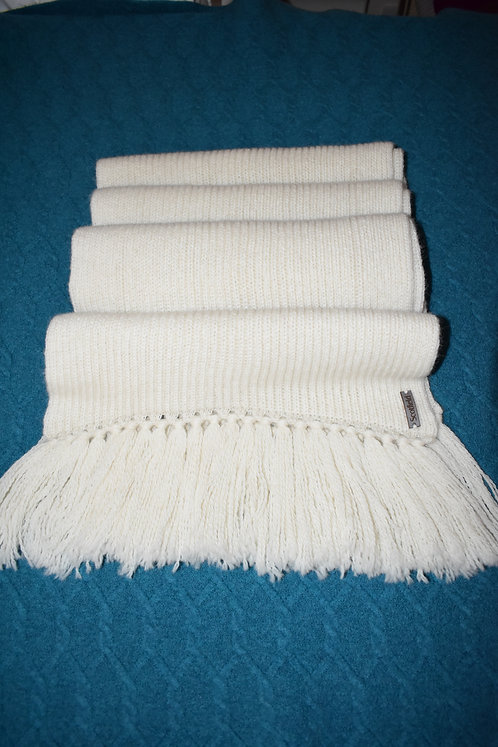 Chunky scarf - Vanilla - Alpaca - British - Pure