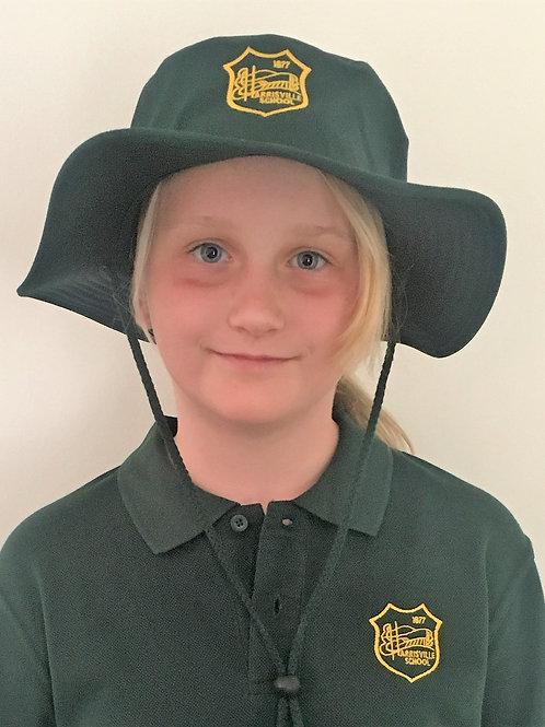 Harrisville Wide Brim Safari Hat Embroidered