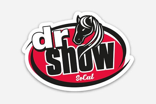 Dr Show SoCal Die-Cut 3 inch x 2.14 inch Stickers