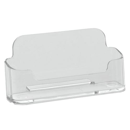 Clear Plastic Business Card Holder