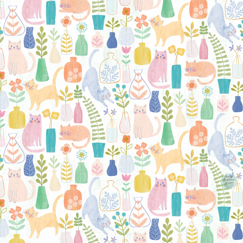 DoodleFlowers_Cats_Pattern.png