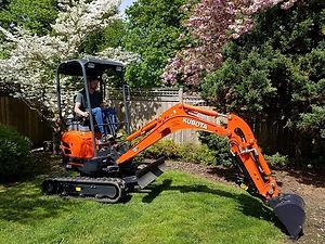 excavation excavator excavating vancouver