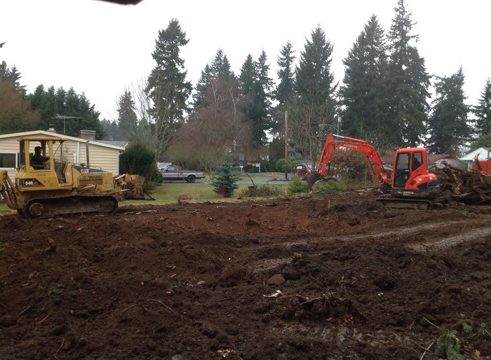 excavation, excavating, excavator