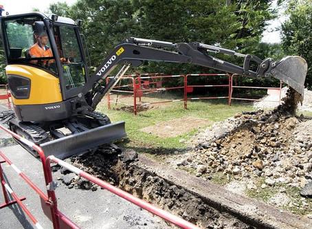 Volvo Electric Compact Excavator