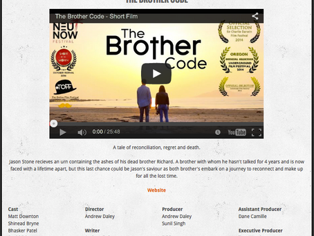 The Brother Code - Short of the Month!