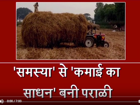 First BioMass Processing plant getting ready in Bathinda ( Video )