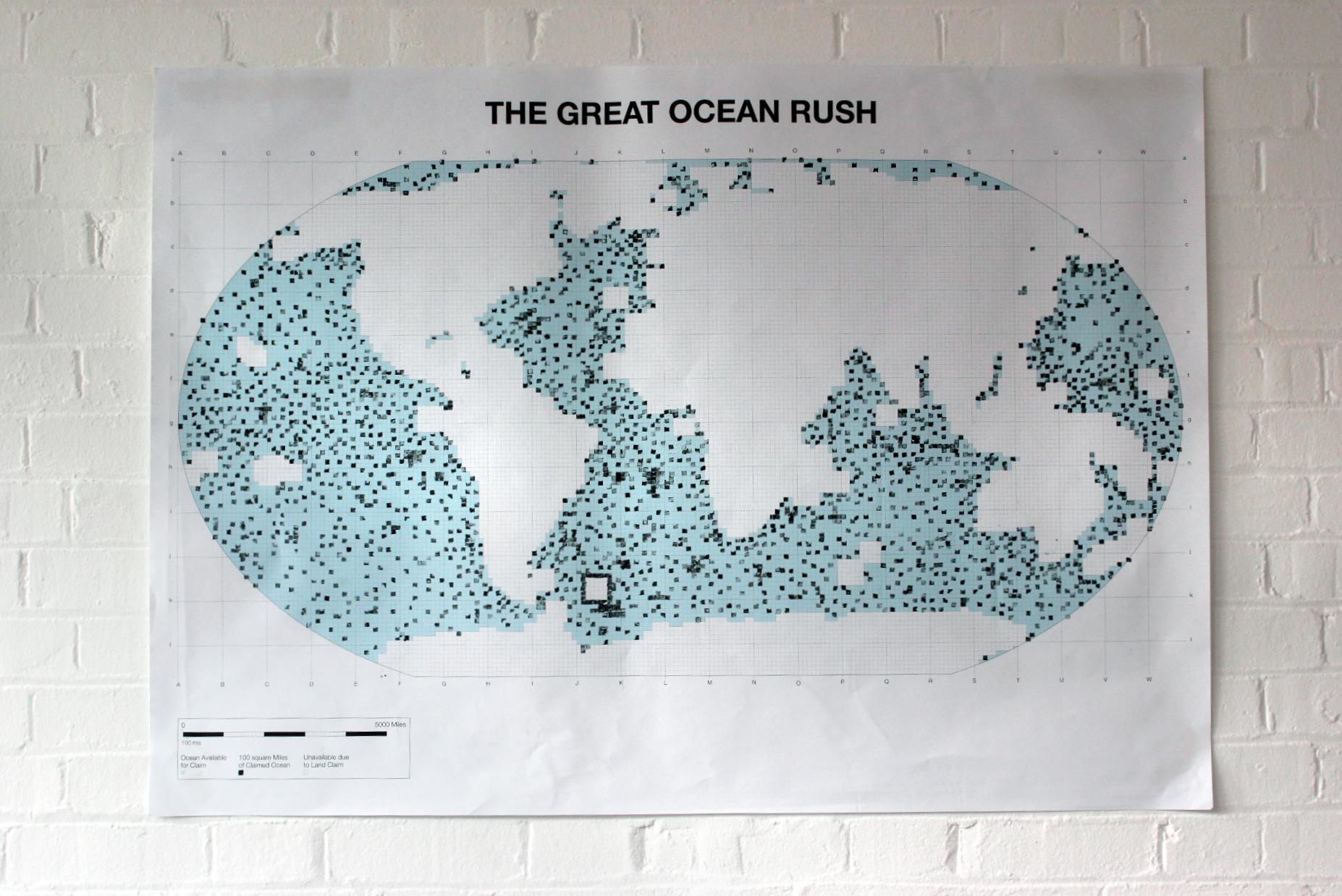 great ocean rush - map