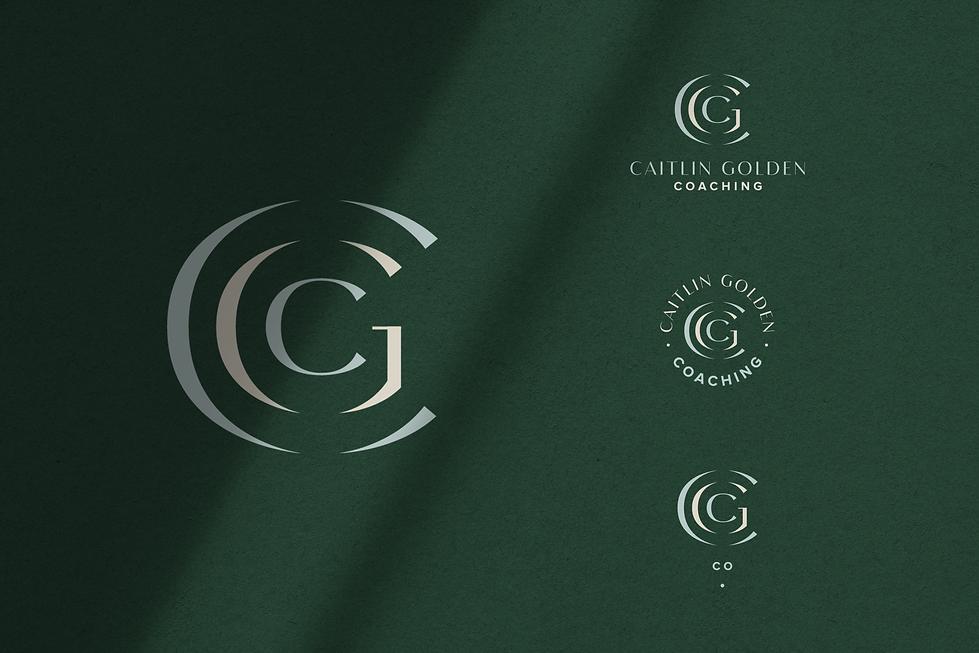 Caitlin Golden Coaching Logos