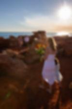 wedding, marriage, celebrant, civil, Broome, bride, groom, flowergirl, Gantheaume Point