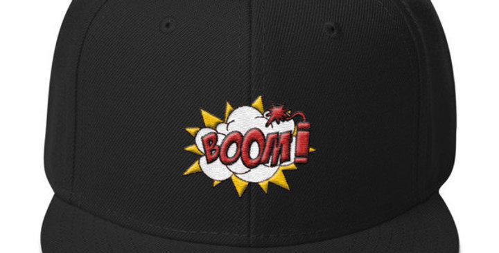 Boom! Snapback Hat