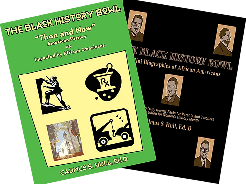 The Black History Bowl Book Set