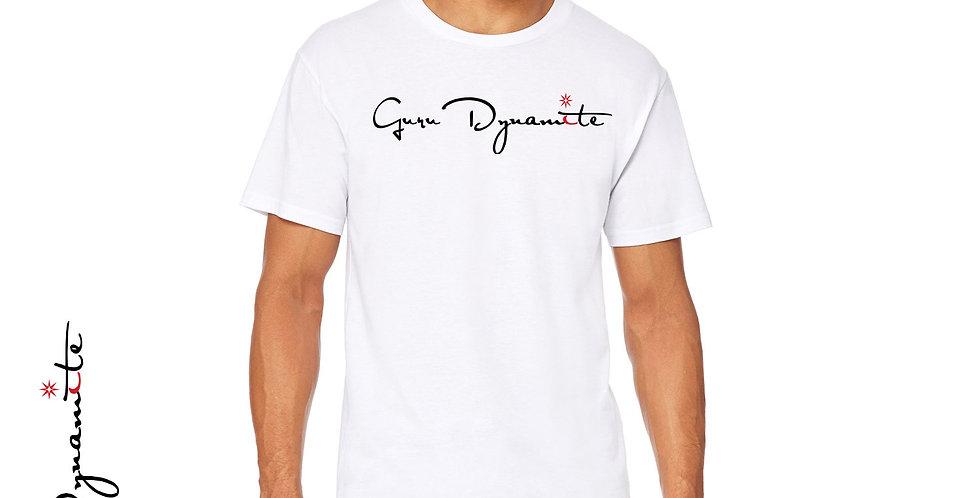 Guru Dynamite White T- Shirt