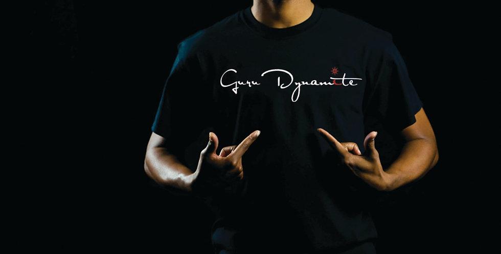 Guru Dynamite Black T- Shirt