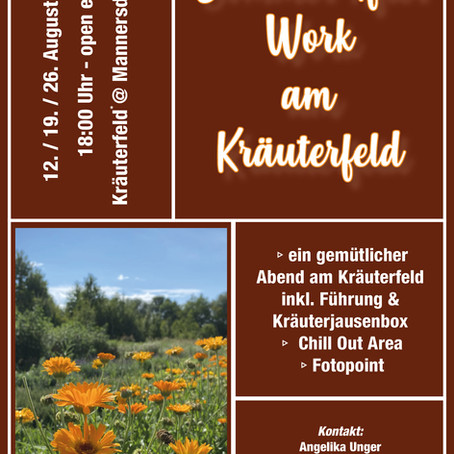 Sommer After Work am Kräuterfeld