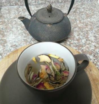 White Tea and Apple, Signature tea gifts, Tea gift box, Gourmet tea gift box, Tea for chil