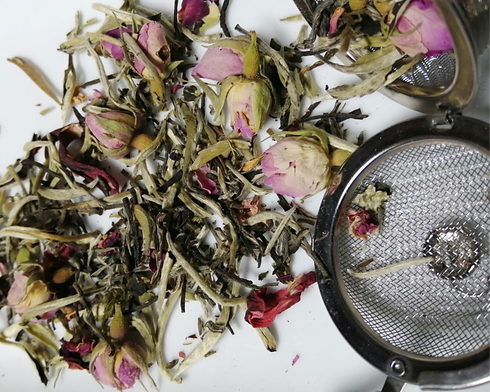 White Tea and Rose, Butterfly Pea_Rose P