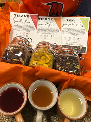 We Give Thanks, We Give Tea | Happy Fall Tea Gift Box | Fall Gift Box