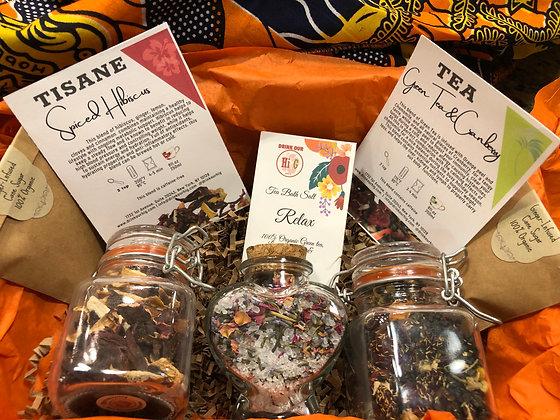 Tea To Your Heart - Tea Gift Box|Spa Gift Set Collection|Cold Season Bath Tea