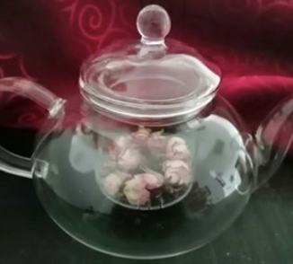 Tea pot, glass tea pot, tea infuser, inf