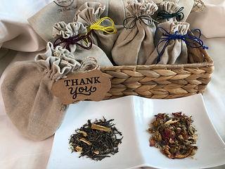 Tea favors, Organic Tea, All natural, So
