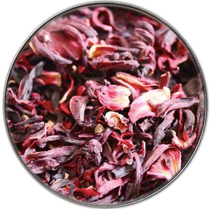 100% Organic Dried Hibiscus Flowers