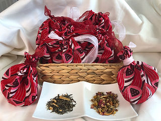 Tea favors, Organic Tea, Sorority, Delta
