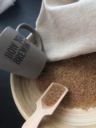 100% Organic Cane Sugar Infused w/Ginger