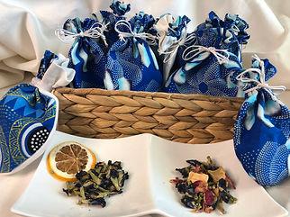 Tea favors, Organic Tea, Sorority, Zeta