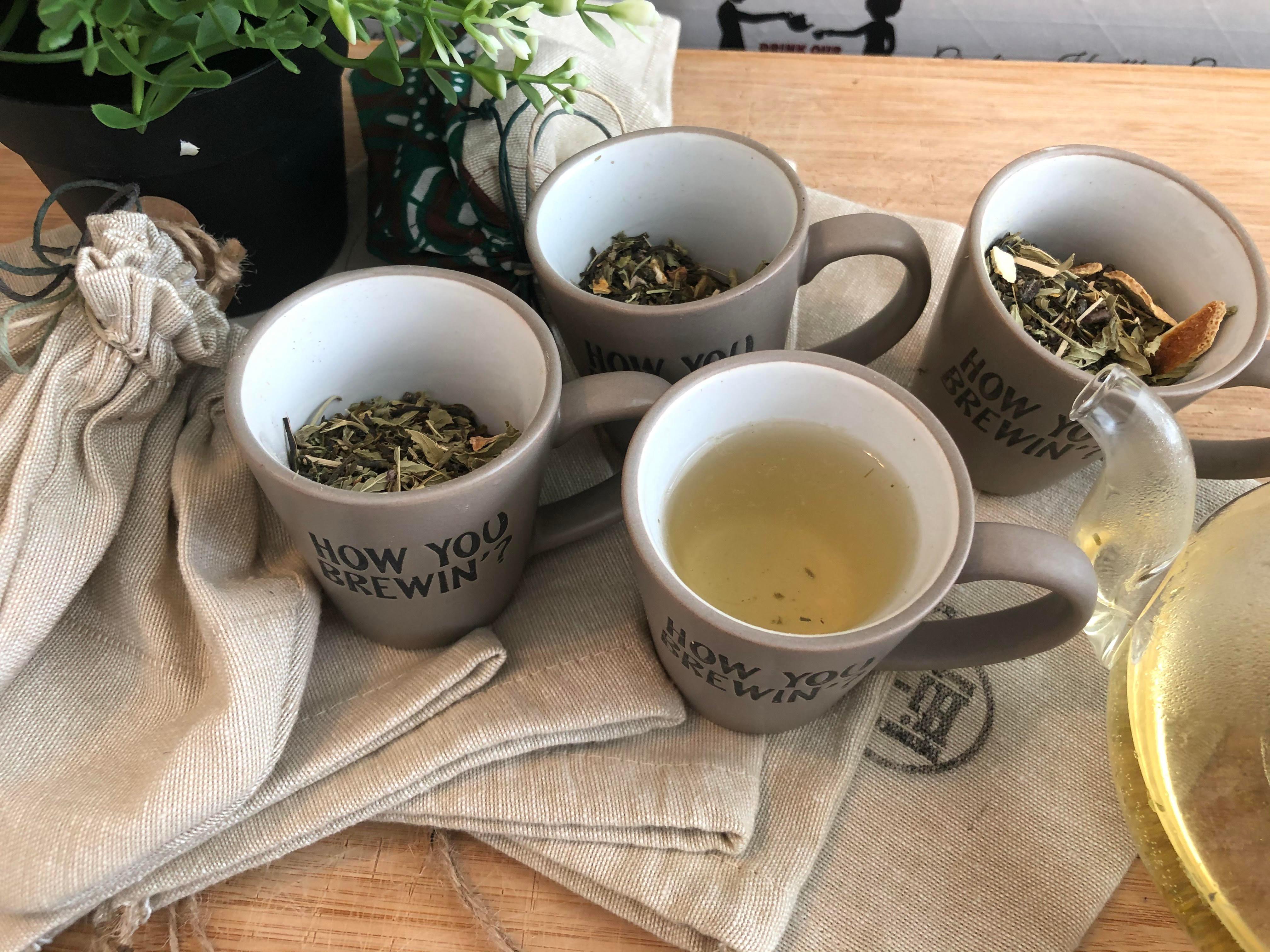 Luxury Green - Virtual Tea Tasting