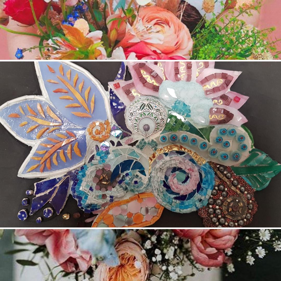 Mandala fleurs bijoux