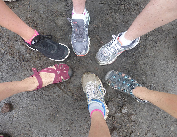 Big Island feet