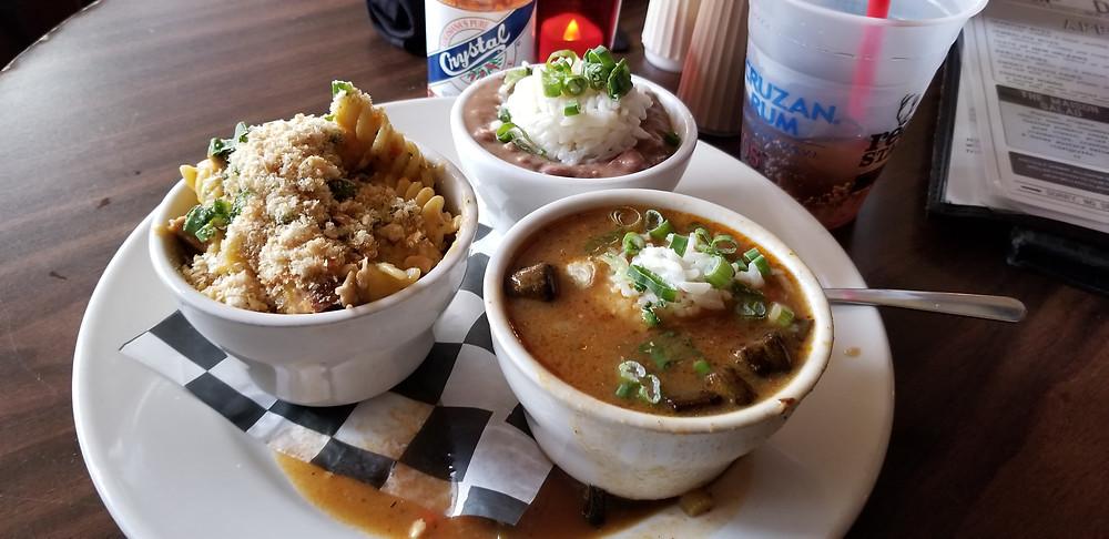 New Orleans, gumbo, jambalaya, Cajun mac and cheese