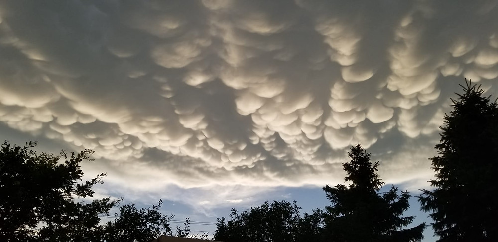 clouds, sunshine, nature, storm
