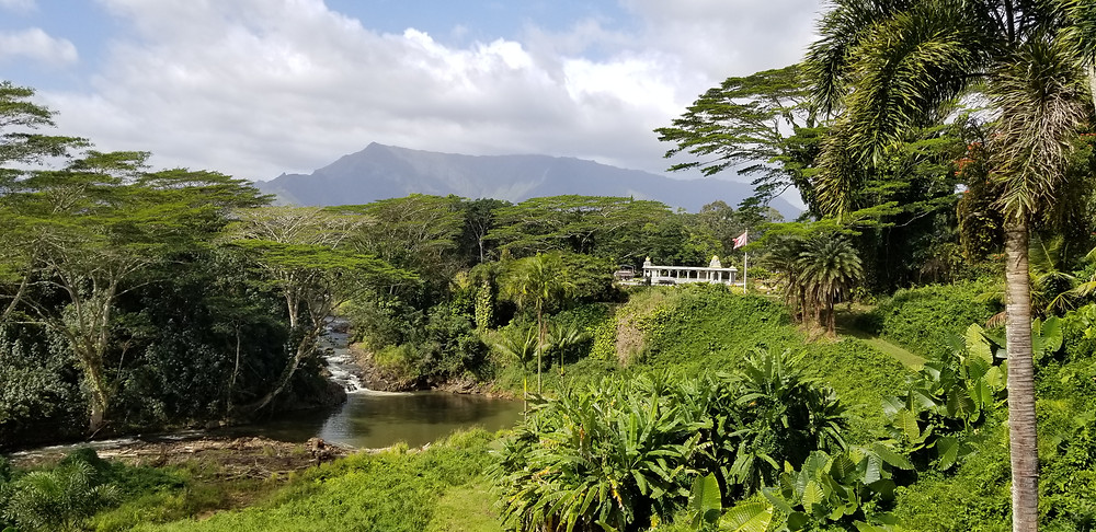 Hindu monastery Kauai worship