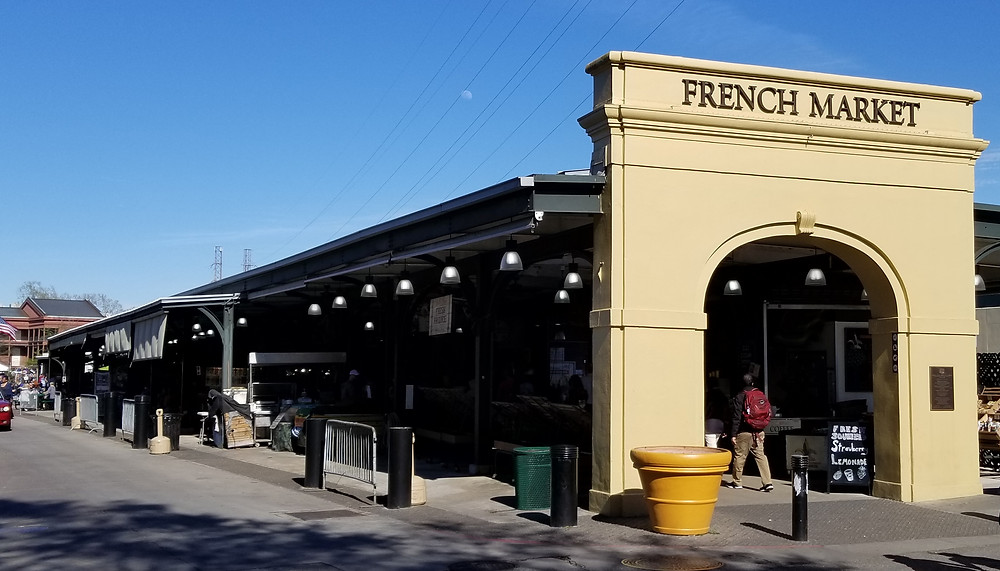 French Market, New Orleans, French Quarters
