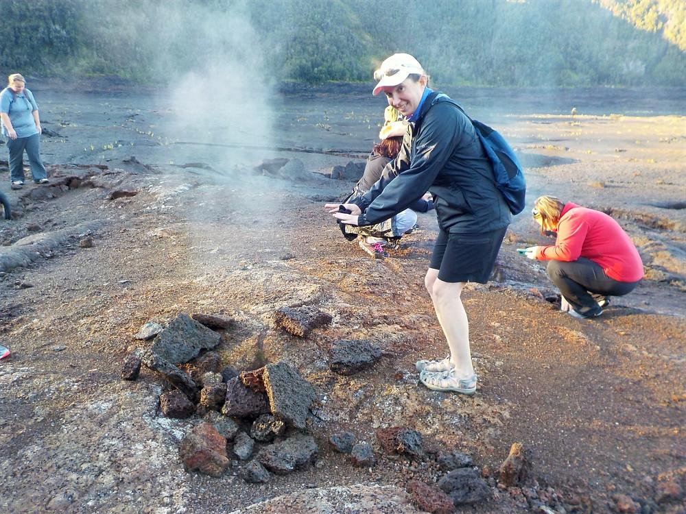 Kilauea Iki crater Hawaii Big Island