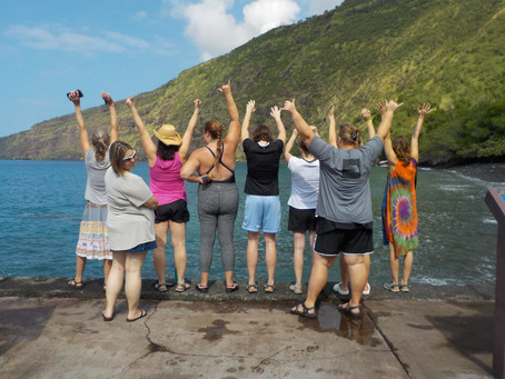 Women on the GrOw's Big Island Debut