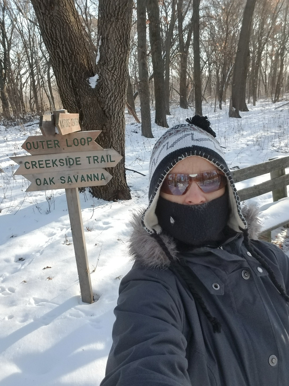 dress for cold weather, winter trails, hiking in winter, trail tips