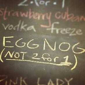 Eggnog Daiquiris are Back!