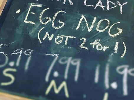 We're Bringing Eggnog Back!