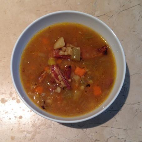 Smoked Lamb Rib Soup