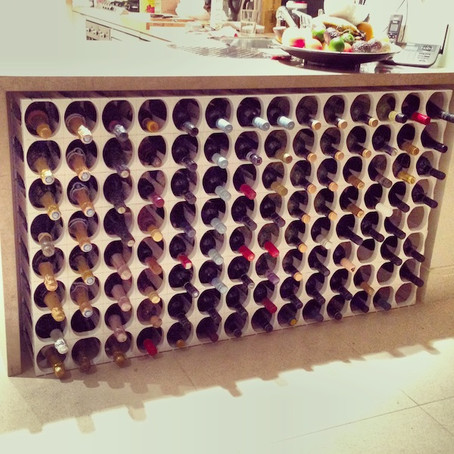 Designing and Creating a Wine Rack