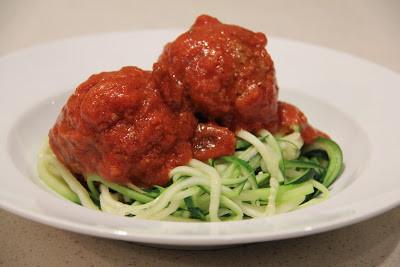 Italian Meatballs with Gluten Free Pasta