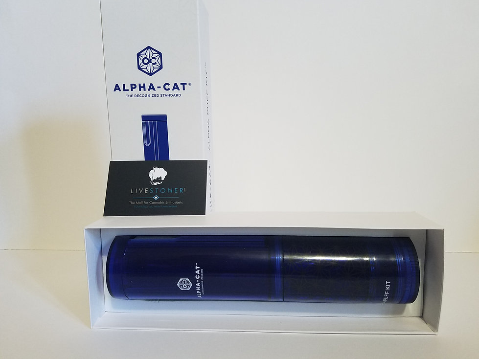The Alpha puff kit review by Livestoner.